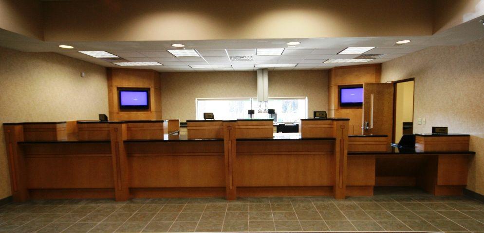 Bank Teller Area Remodel Bank Counter Design Joy