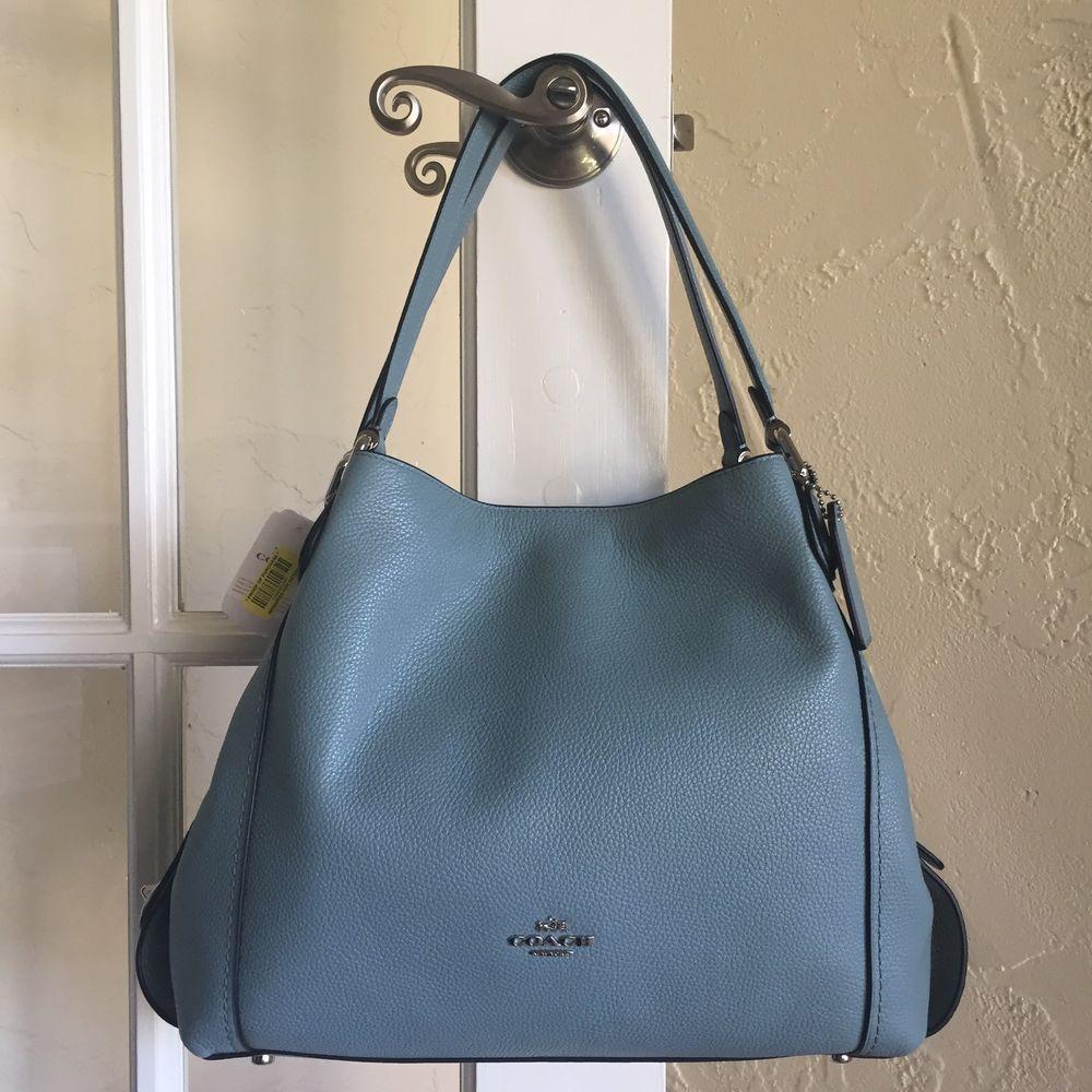 Coach 57125 Edie 31 Shoulder Bag Polished Pebble Leather Cloud  Coach   ShoulderBag 6c8ccdc98c