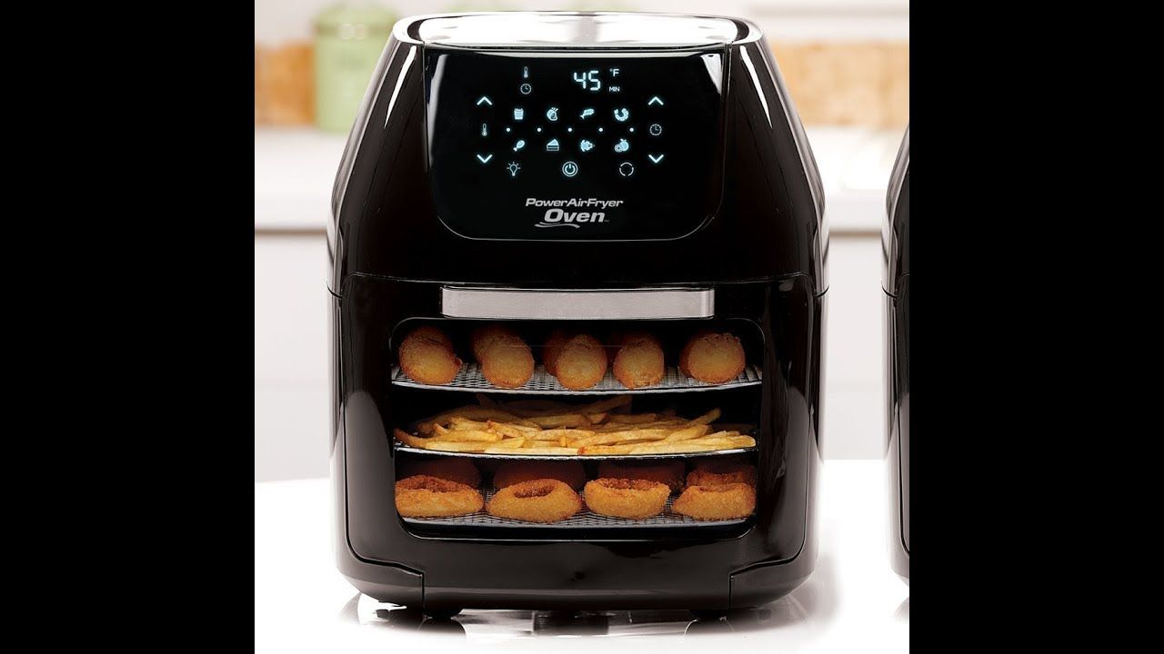 Power Air Fryer Oven To Replace Microwave And Toaster Oven While Camping Air Fryer Toaster