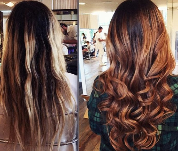 Conhecido Meu cabelo novo: morena acobreada! | cabelos | Pinterest  YS51