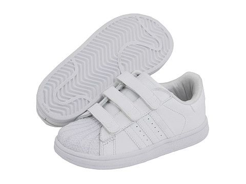 adidas Originals Kids Superstar 2 H L (Infant Toddler) White White White -  Zappos.com Free Shipping BOTH Ways  40 70f67bf3d