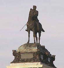 Estatua ecuestre de Alfonso XII en Madrid (Mariano Benlliure, 1909)..jpg