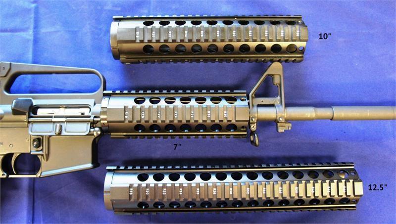 Vector Optics 12 Ar15 M4 Free Float Quad Rail Tactical