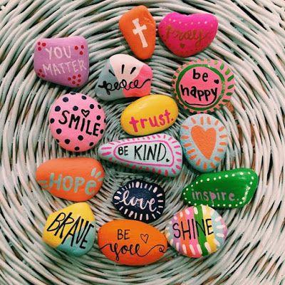 Photo of HANDMADE GIFT OF THE WEEK: Inspiration Stones