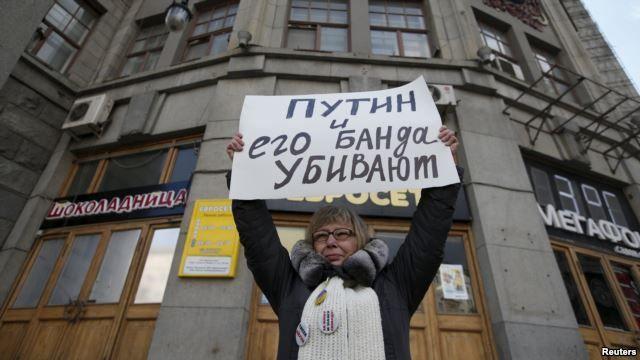 Утверждать, что восстановление законности в Крыму приведет к «чудовищной крови» – значит, потакать беспардонной и лживой путинской пропаганде