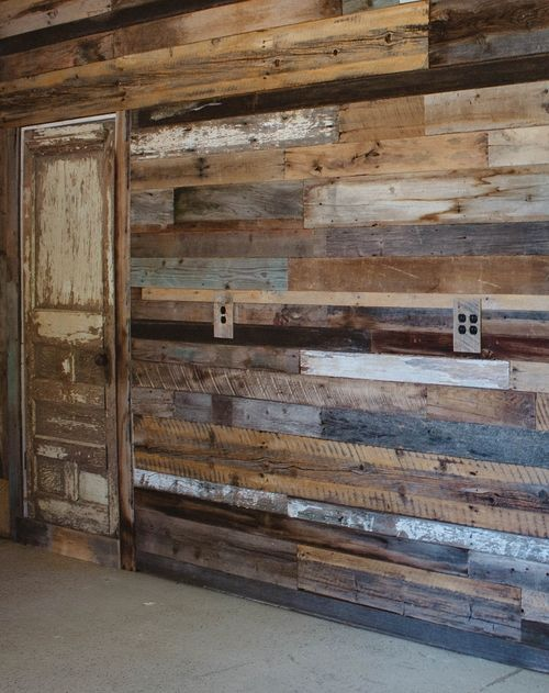 Youth Group Room Colors: RAW Restorations - Barnwood Accent Wall
