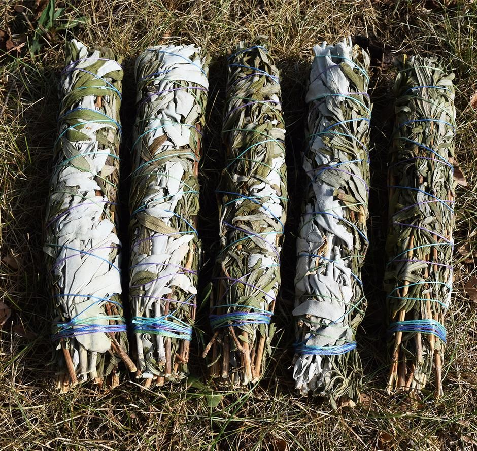Lavender sage smudge bundle smudging your home to create