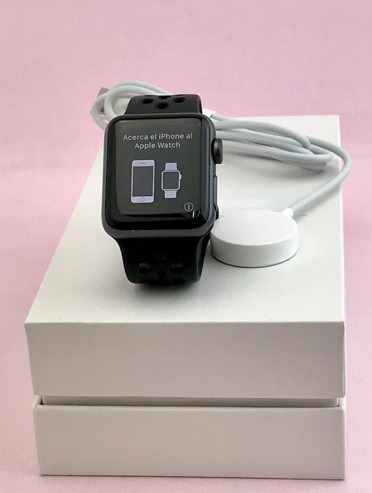 Ebay Sponsored Apple Watch Series 2 Nike A1757 38mm 8gb Space Gray Aluminum Caseband Apple Watch Series 2 Apple Watch Apple Watch Series