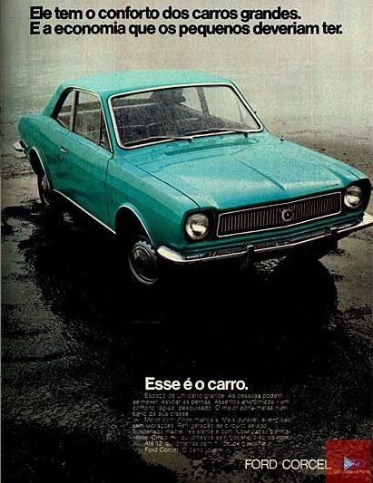 1973 Ford Corcel De Luxo Brasil Carros E Caminhoes Ford