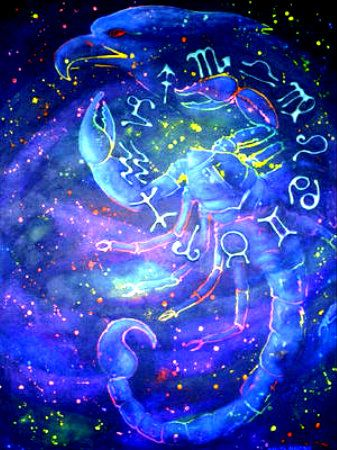 scorpio astrology background