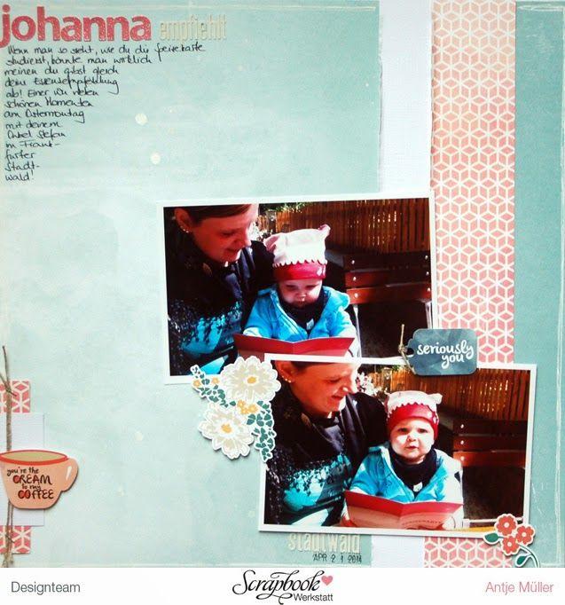 iLoveSchnipsel: Johanna empfiehlt... {Sketch- Werkstatt}