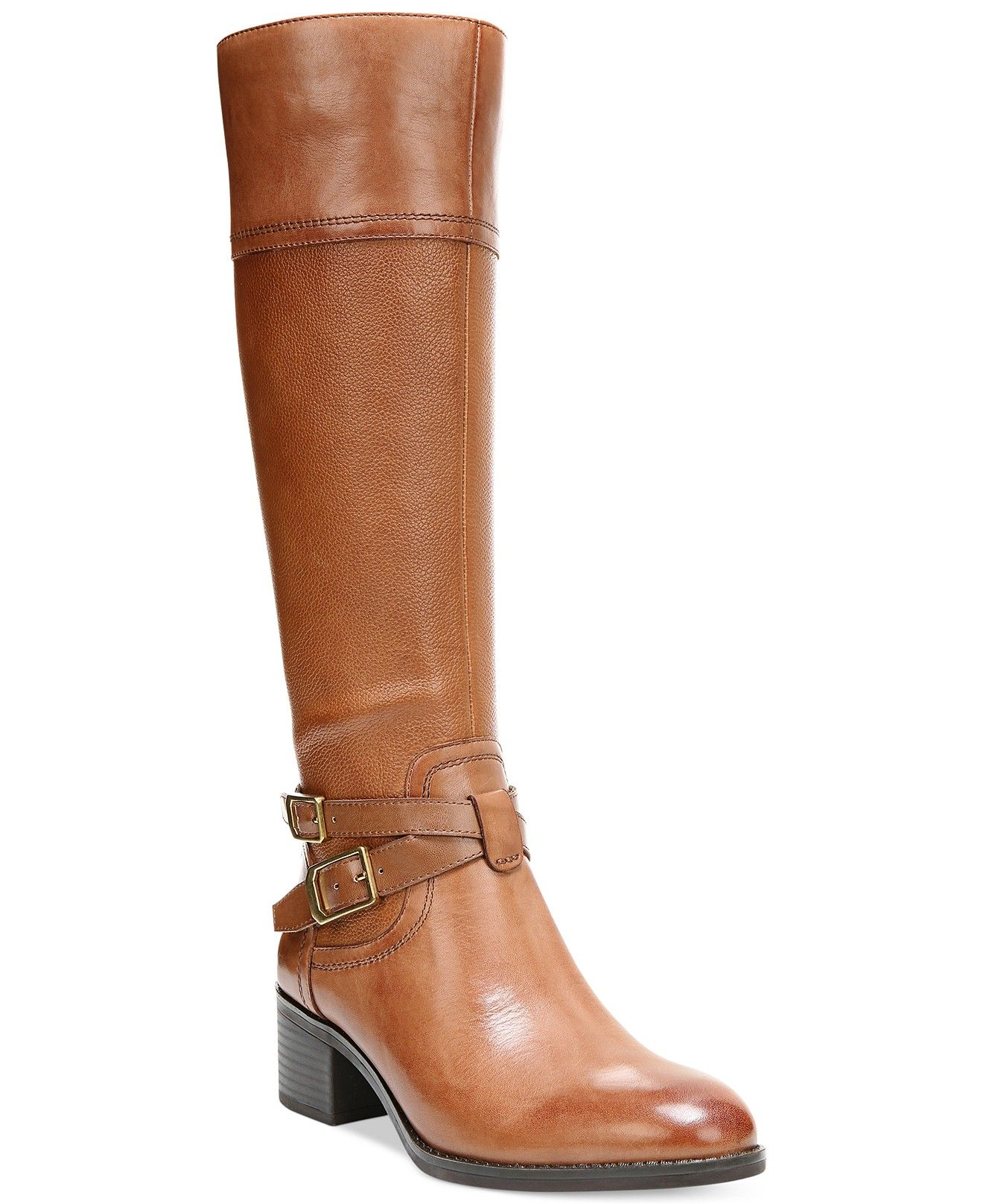 f417cee1c137 Franco Sarto Lapis Wide Calf Riding Boots - Boots - Shoes - Macy s ...
