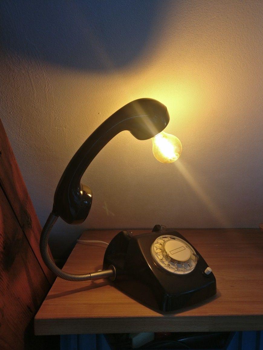 Telefoonlamp Lampe Ideer Lamper Lys