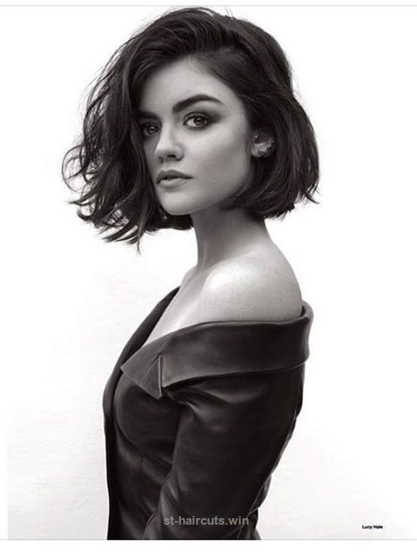 Awesome Lucy Hale Short Hair Instagram Google Search The Post Eared First On St Haircuts