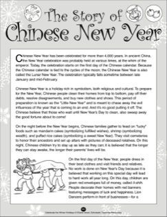 The Story of Chinese New Year | In the Year of the Boar and Jackie ...