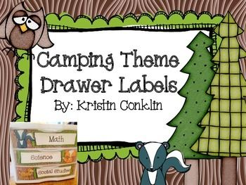 You are downloading 2 sets of labels for your Sterlite 3 Drawer unit.  There are woodland animals and trees that can be used separately or mixed together.  There are labels for each subject area as well as Grade, File, and Copy. Use these drawers to help you stay organized!  *****Depending on how old your Sterlite 3 Drawer unit is you may or may not need to trim off some excess on one end.