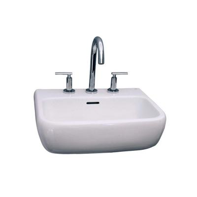 Barclay Products Metropolitan 600 Wall-Hung Bathroom Sink in White