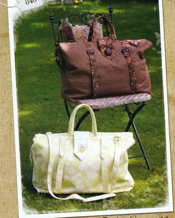 Favorite Things Carpet Bag Sewing Pattern | klamotten | Pinterest ...