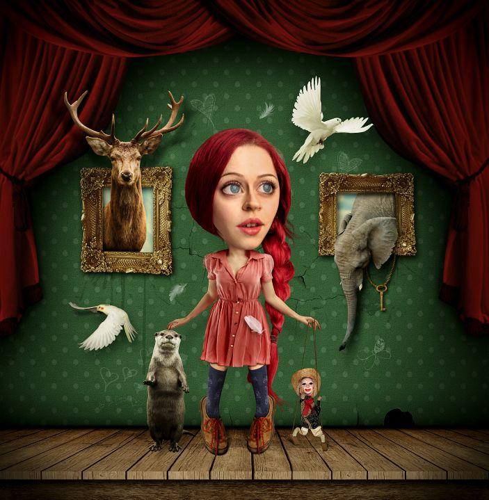 Transform a Portrait Into a Caricature Artwork - http://wp.me/p4R2sX-8kY