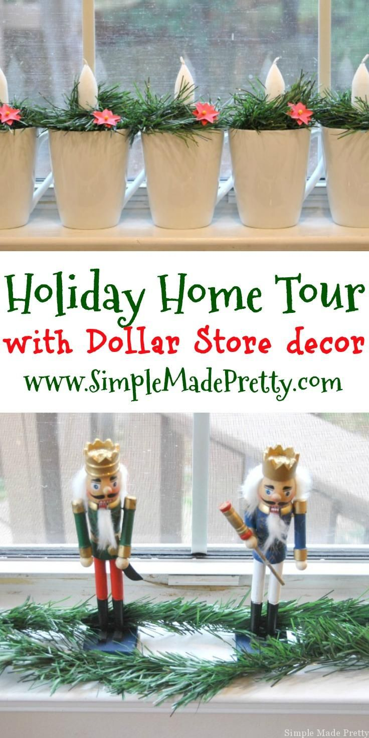 Dollar Store DIY Holiday Home Decor Ideas that will Save You a Ton ...