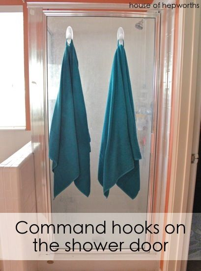 Hooks Are Hung Stuff Is Organized Diy Bathroom Storage Dorm