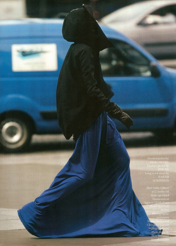AnOther #13 Fall/Winter 2007    Photo -- Hans Feurer  Styling -- Marie Chaix