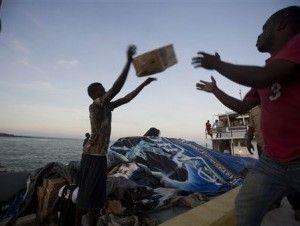 Llega la ayuda a Haití tras el paso de Matthew
