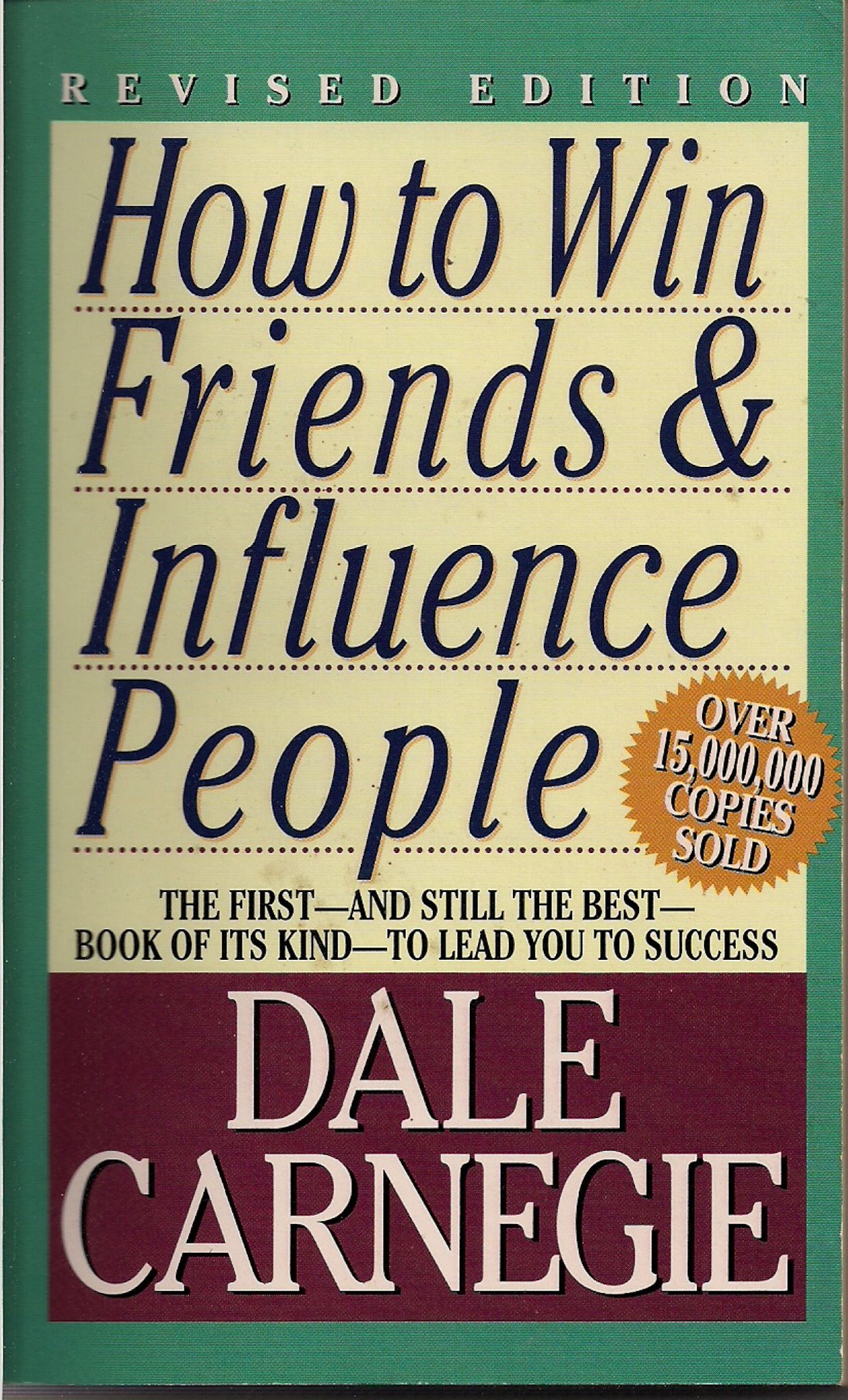 First published in 1936, one of the biggest sold self help books in all of  history | Dale Carnegie