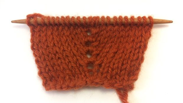 How To Knit The Knit One Purl One Knit One Double Increase K1 P1