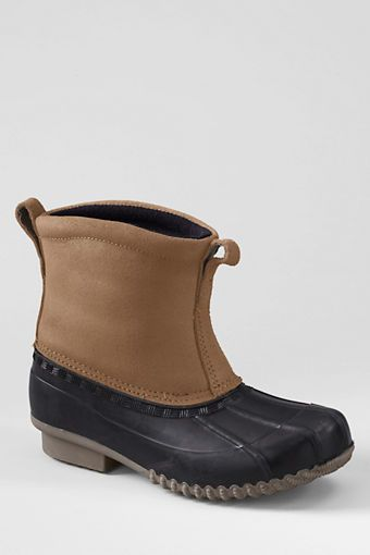 Boys' Pull-on Duck Boots from Lands