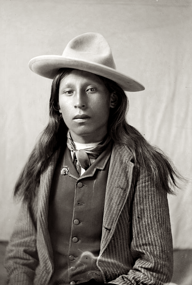 Yes, He's Handsome -- But He's Not Your Model. 25 Photos of Natives in European Dress - ICTMN.com