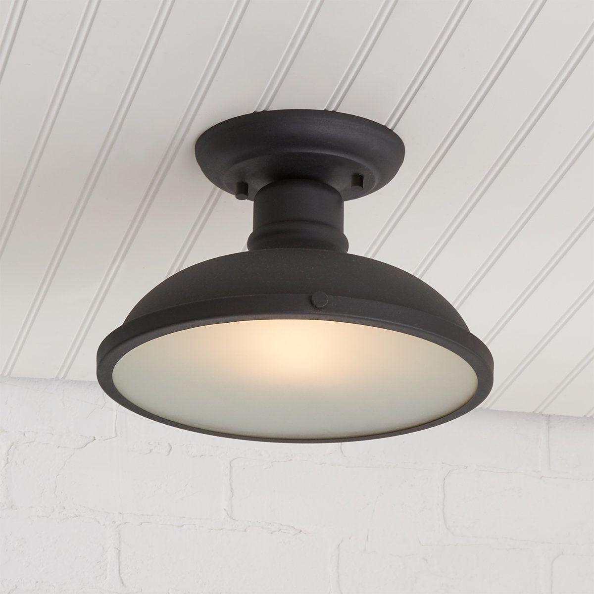 Sleek Workshop Outdoor Ceiling Light In 2020 Outdoor Ceiling Lights Ceiling Lights Semi Flush Ceiling Lights