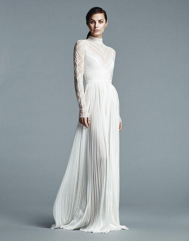 Effortlessly Elegant J Mendel Spring 2017 Wedding Dress Collection Onefabday Com Wedding Dress Long Sleeve Wedding Dress Trends Spring Wedding Dress