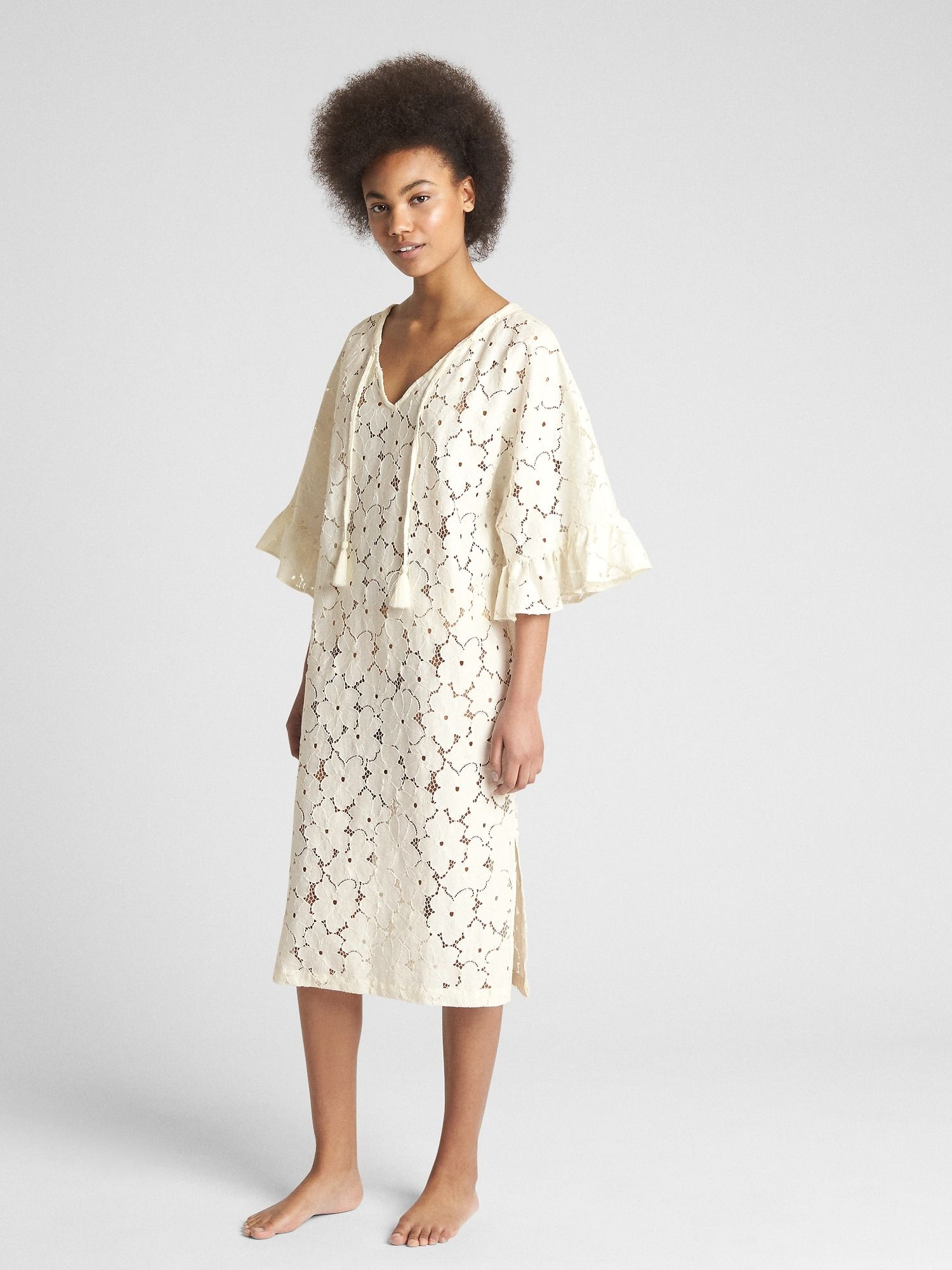 9c0eacc015 Dreamwell Eyelet Dress Cover-Up