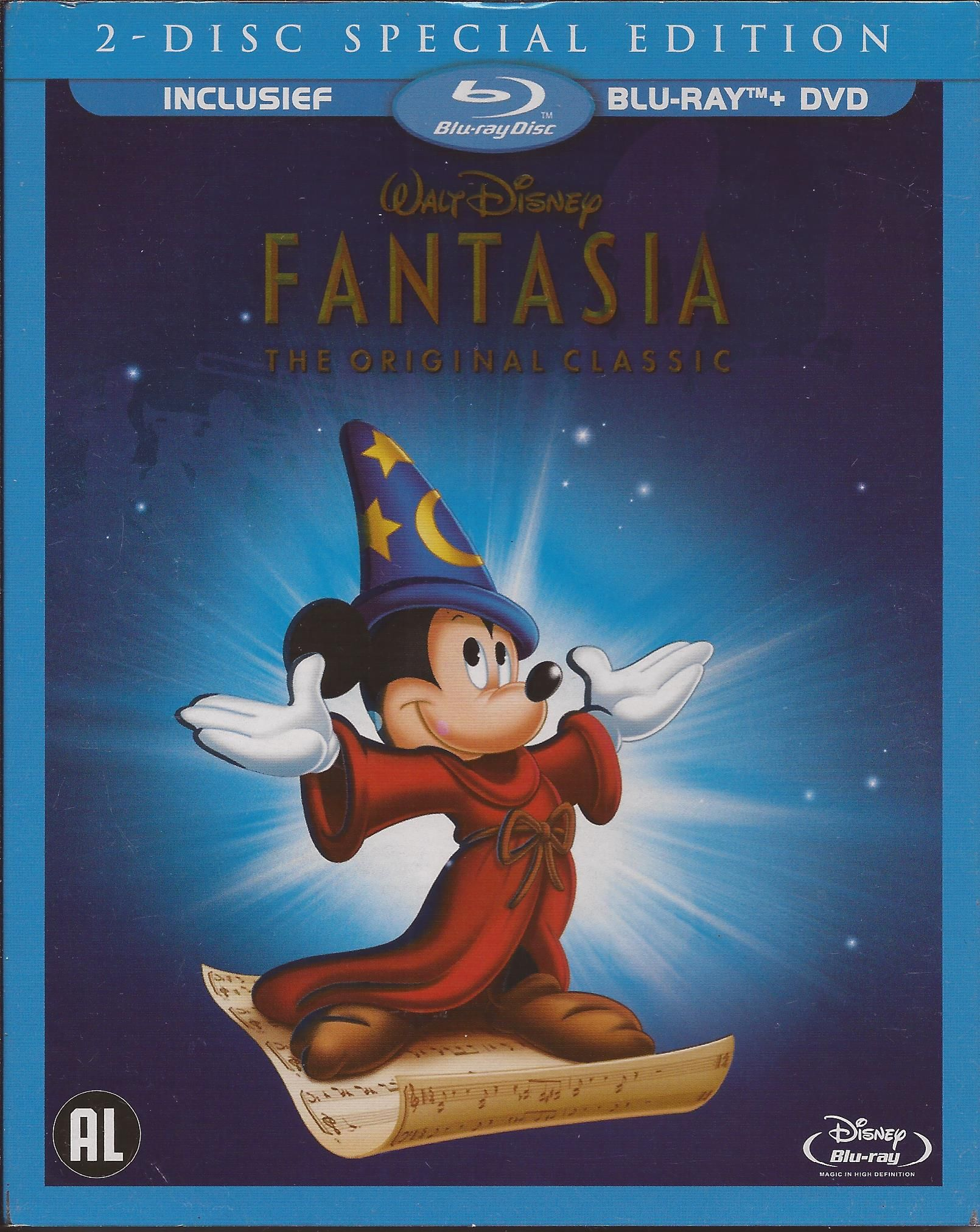Ds 003 1940 Fantasia 2 Disc Special Edition