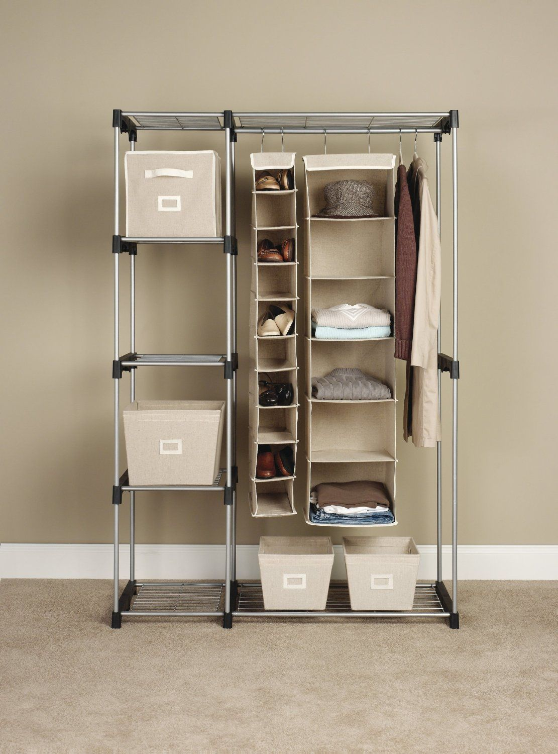 Closet Storage Ideas amazon most popular item: give your sweaters, socks and shoes