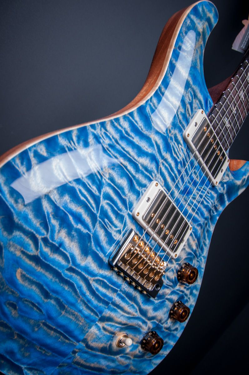 PRS DGT Artist Package Quilt Top Electric Guitar in Faded Blue ... : quilt top guitar - Adamdwight.com
