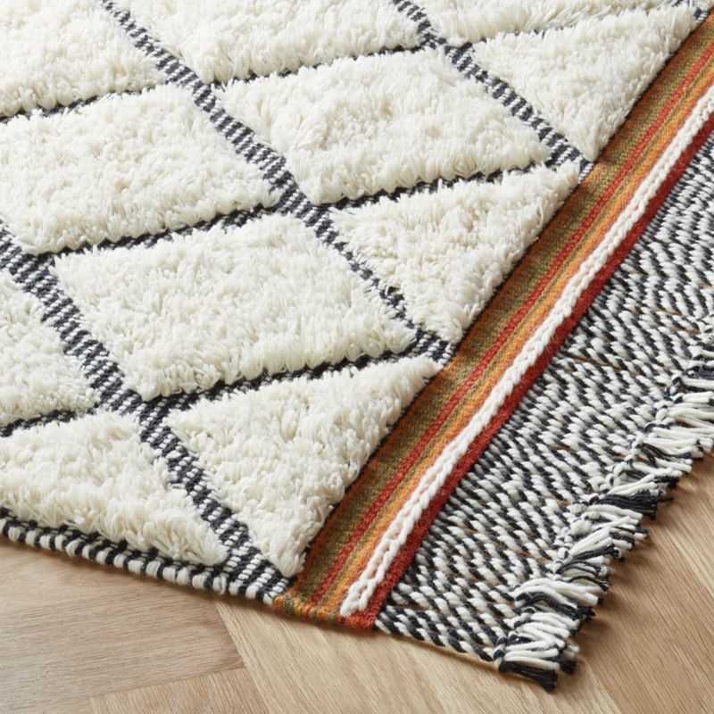 Bucatini Ivory Rug 5 X8 Reviews Cb2 In 2020 Ivory Rug Cotton Rug Rugs