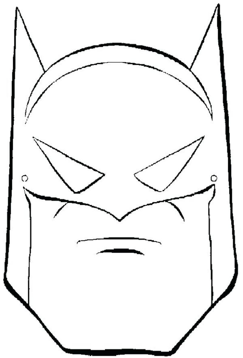 Animal Mask Coloring Pages In 2020 Batman Coloring Pages Batman Valentines Batman Mask