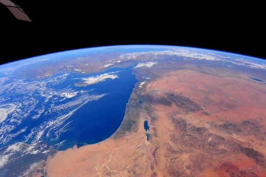 The Middle East from the ISS