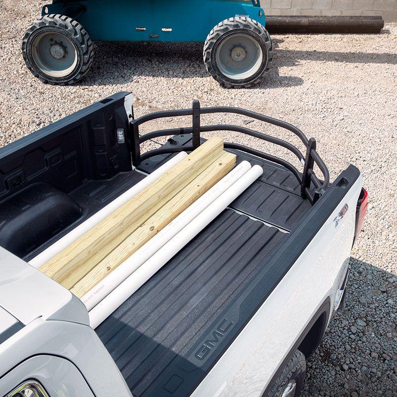 2019 Sierra 1500 Bed Extender, Bed Divider, Black Aluminum