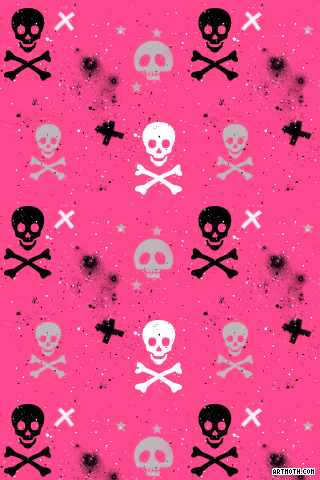 Pink skull wallpaper for android binge thinking voltagebd Choice Image