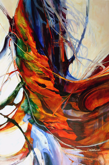 The Abstract Nature Of Nature Abstract Art Abstract Art Painting