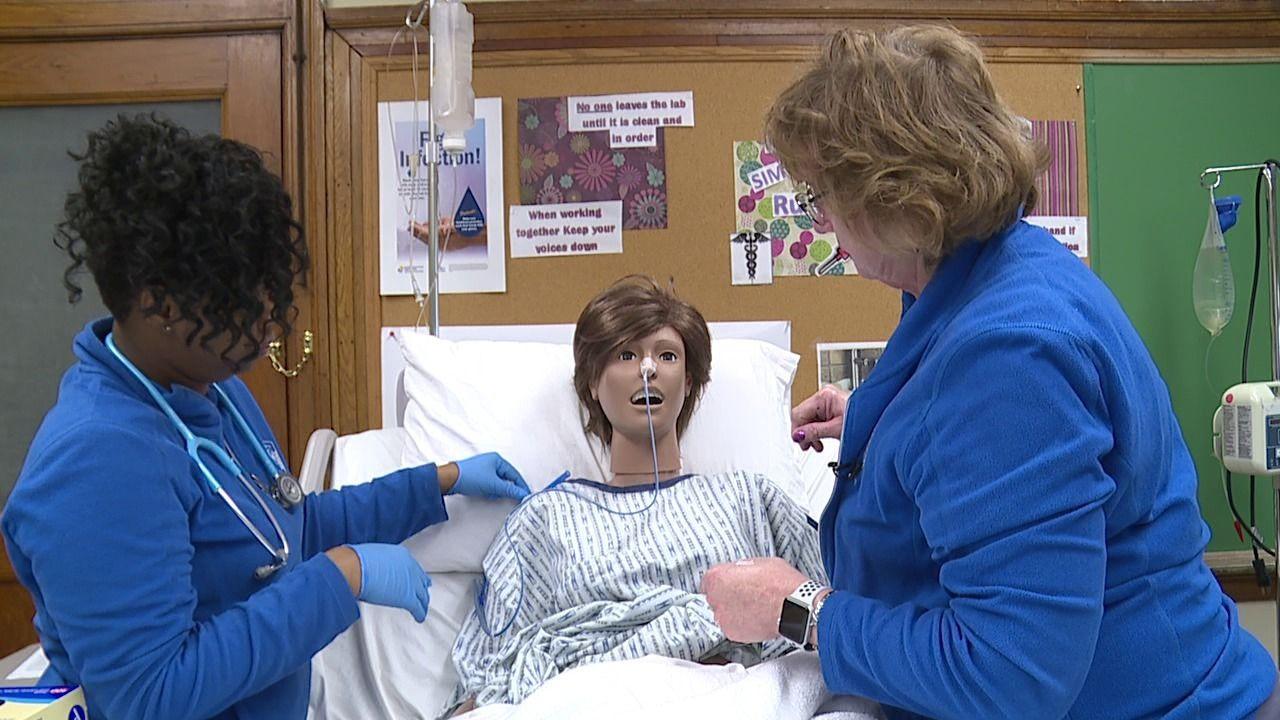 JobsNOW Nursing school in Salem training students for