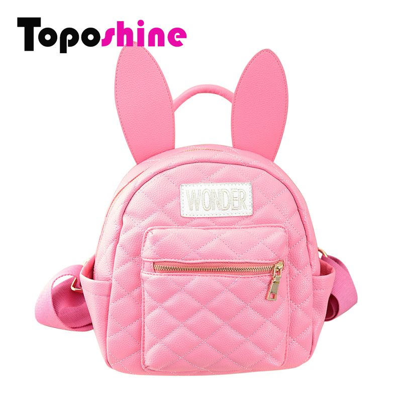 Cute Girl Backpack Baby Girl School Bags Cute Cartoon Rabbit ...