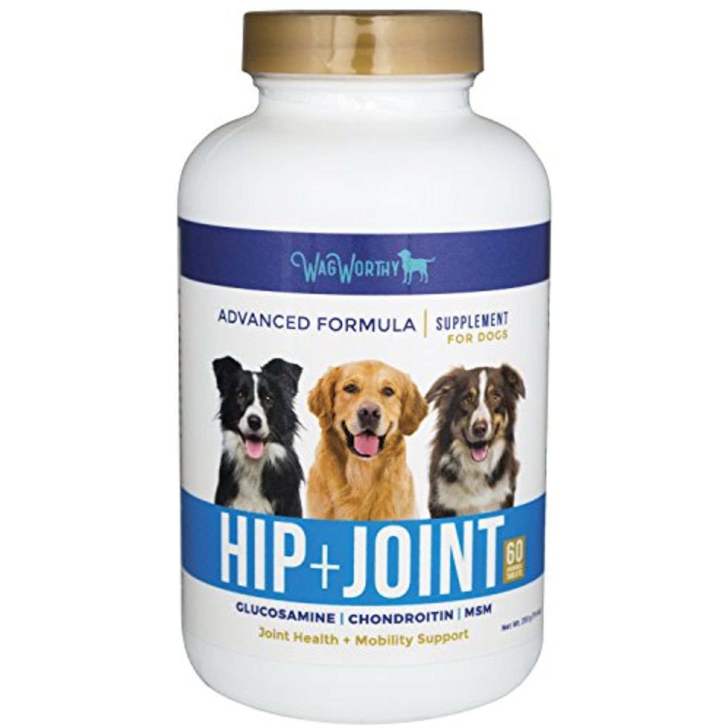 Advanced Hip and Joint Supplement for dogs with