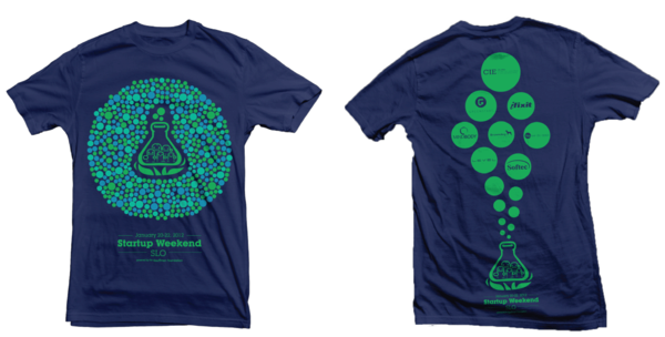b162d330d25 Startup Weekend Tshirt Design Example