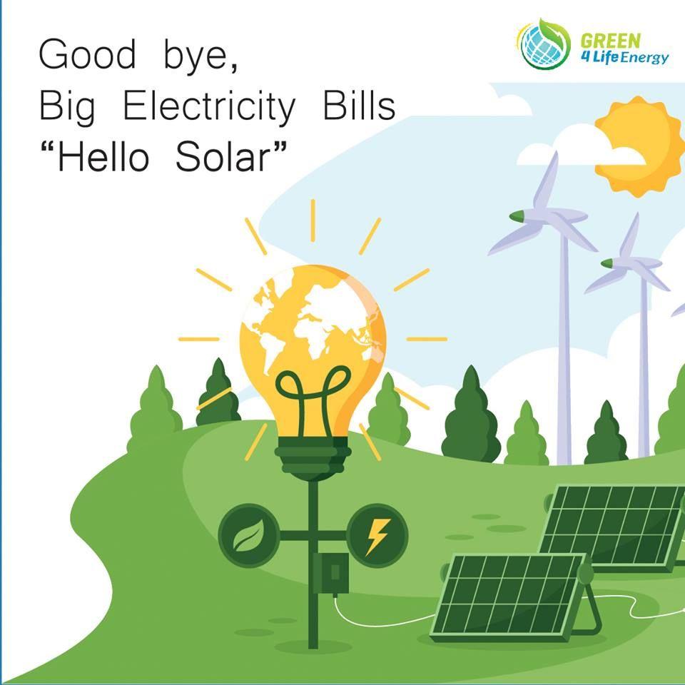 Say No To Big Electricity Bill Solar Solar Power Solar Panels