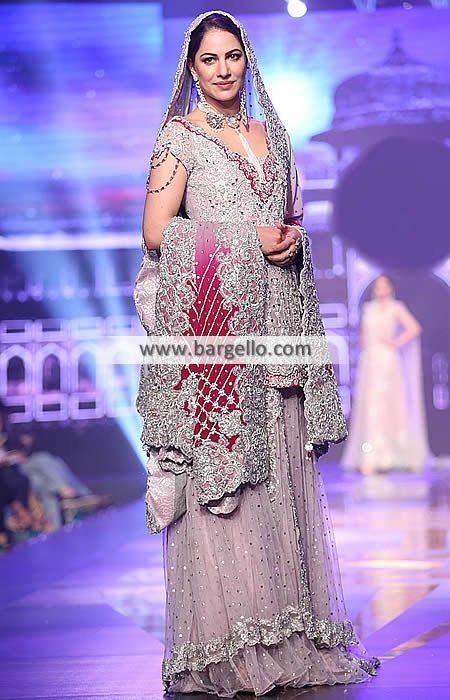 6d8a534f43 Pakistani Walima Bridal Dresses Designer Bridal Sharara for Walima Pakistan  D6272 Bridal Wear