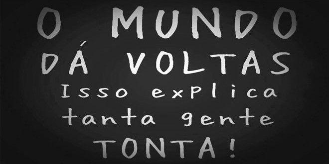 Frases Para Facebook O Mundo Dá Voltas Frases Com Imagens E